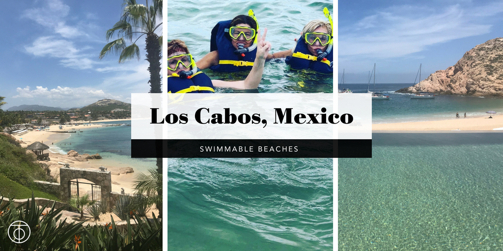 Swimmable Beaches of Cabo