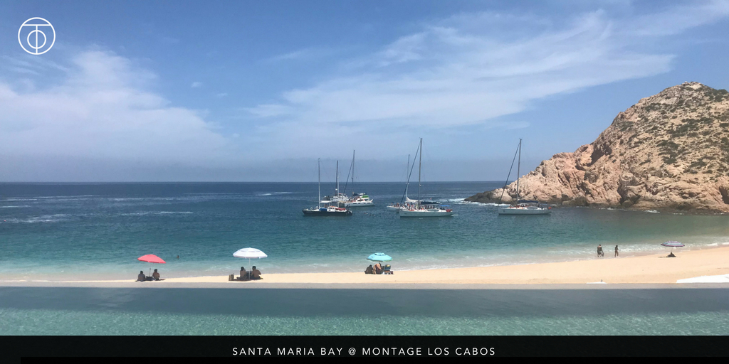 Swimmable Beaches of Cabo: Santa Maria Bay at Montage Los Cabos