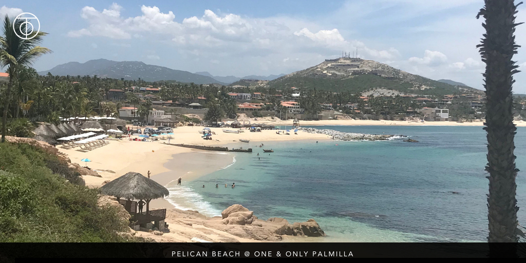 Swimmable Beaches of Cabo: Pelican Beach at One & Only Palmilla