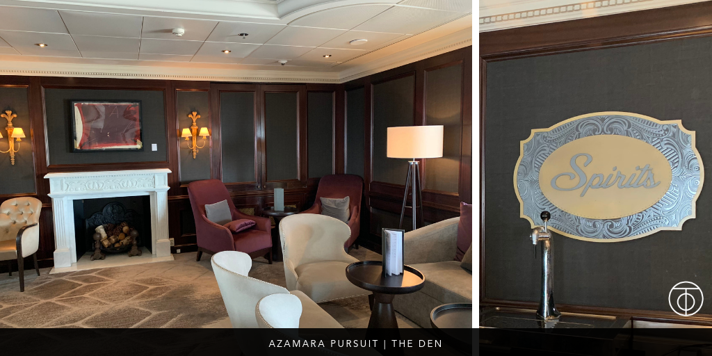 Azamara Pursuit: The Den