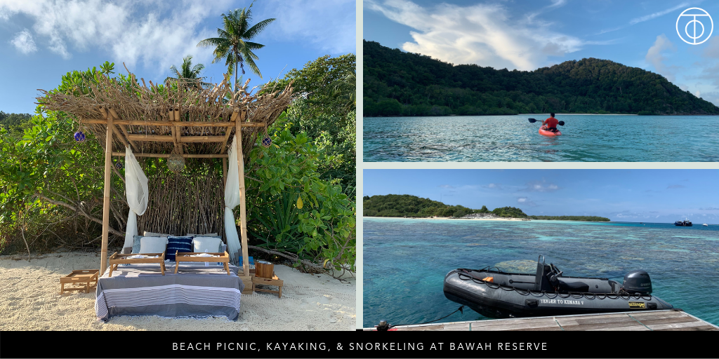 Bawah Reserve: Beach Picnics, Kayaking, and Snorkeling