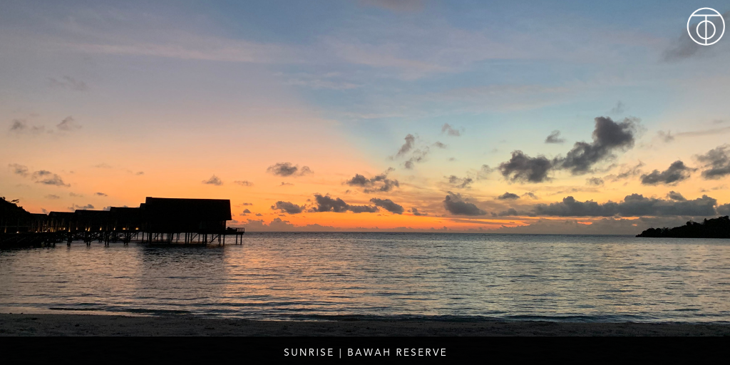 Bawah Reserve: Sunrise Bungalows