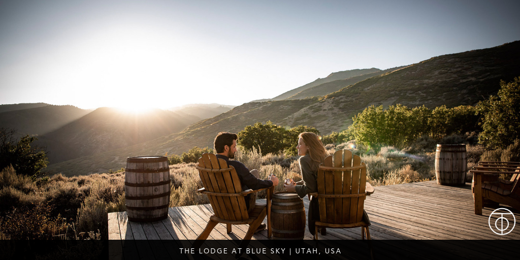 luxury ranch: Lodge at Blue Sky, Utah