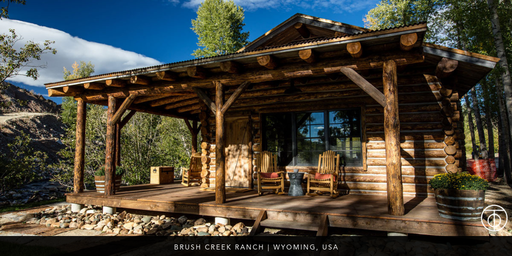 luxury ranch: Brush Creek, Wyoming