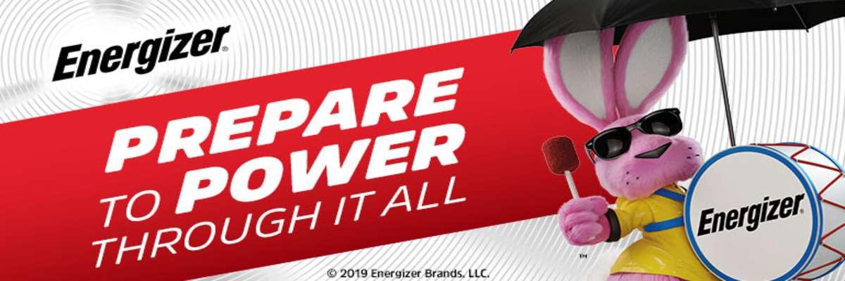 Energizer Batteries Prepare