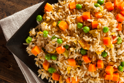 FRIED RICE – Vegetable or Shrimp