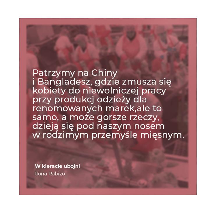 W kieracie ubojni- Ilona Rabizo