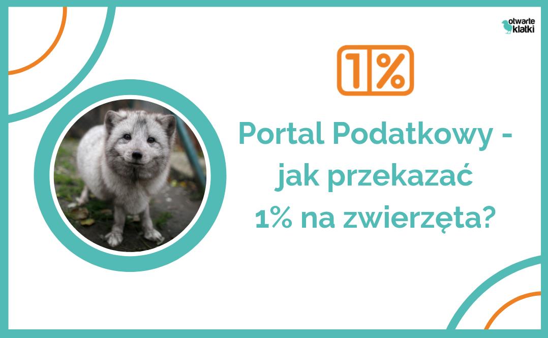 Przekaż 1% na zwierzęta