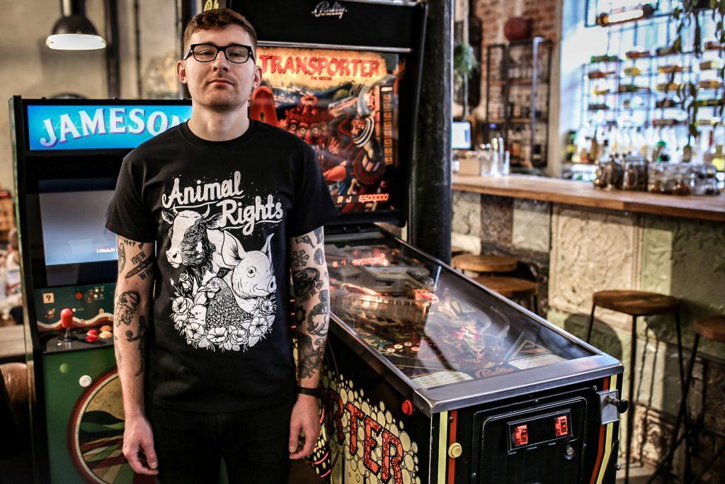 koszulka animal rights