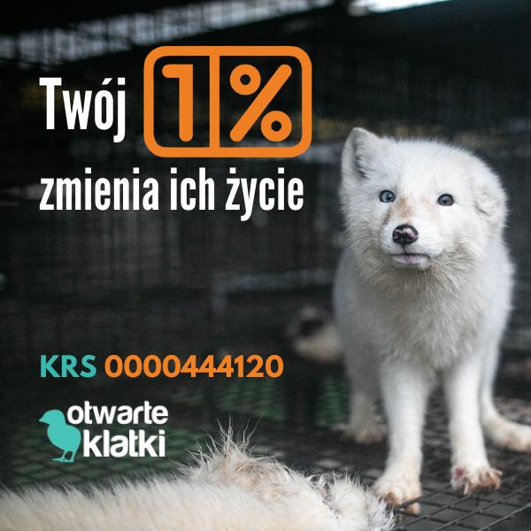 1% dla zwierząt