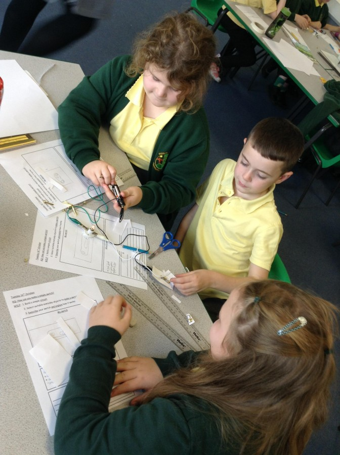 Creating a switch – Harlow Green Community Primary School