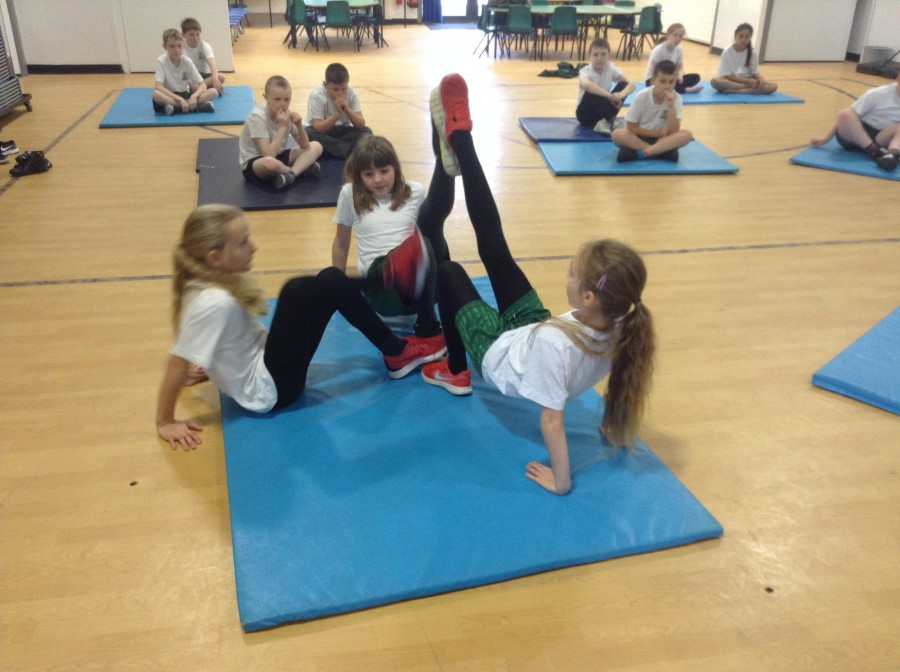 Mirroring and Matching in Gymnastics