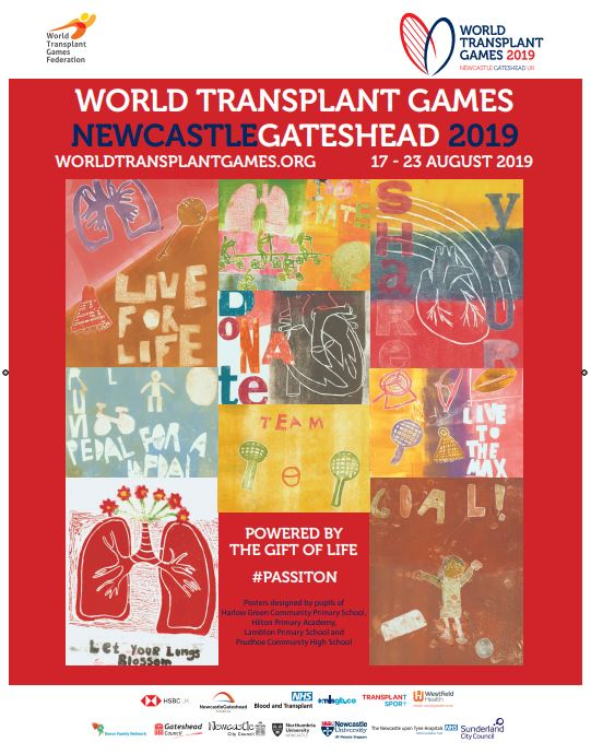 The World Transplant Games 2019 Posters