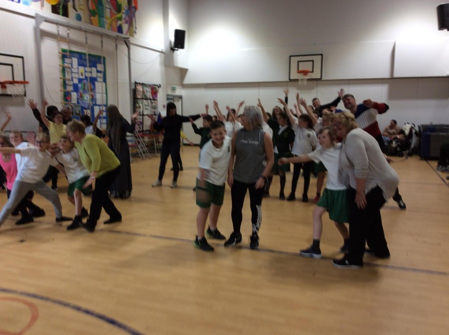 Harlow Green does STRICTLY!