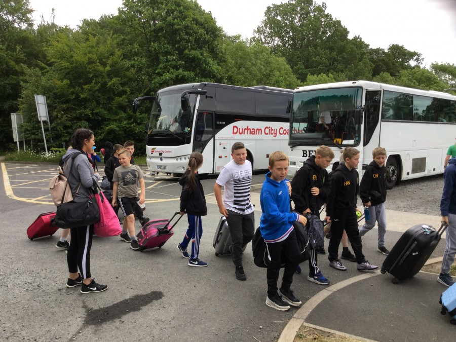Year 6 Residential – The Adventure Begins!