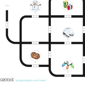image about Ozobot Printable named Ozobot person portal