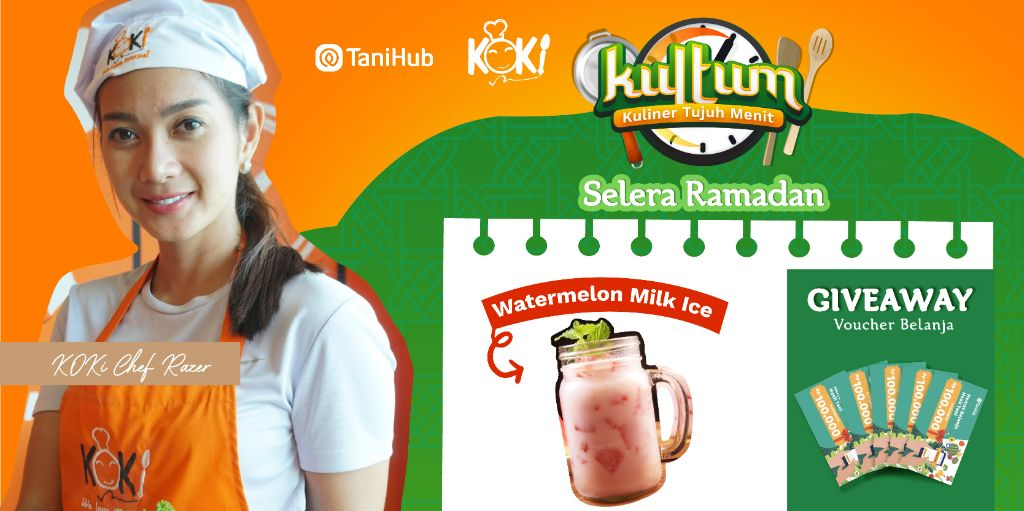 Manis & Segar Watermelon Milk Ice