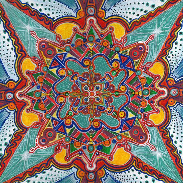 """""""Mandala"""" Print"""
