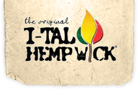 Ital Hemp Wick Small