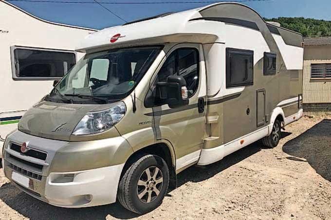 Camping-car BURSTNER 664