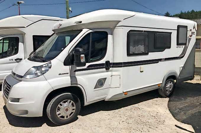 Camping-car TEC ROTEC