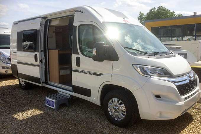 Camping-car ADRIA 600 SP,