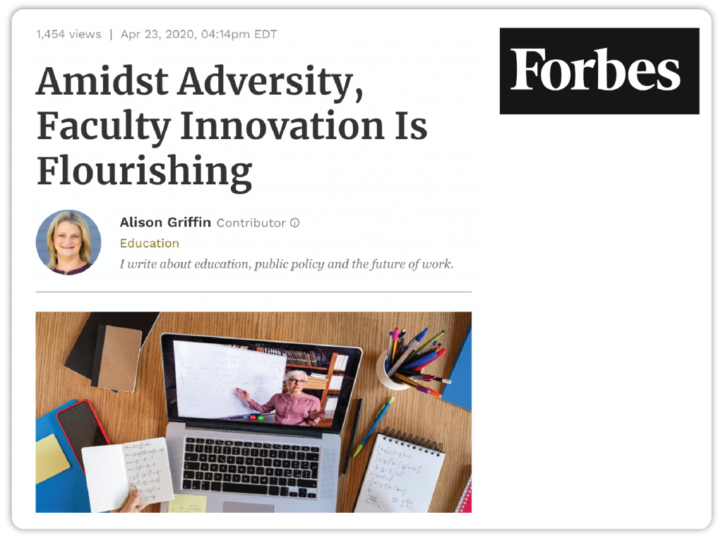 Screenshot of Forbes Article