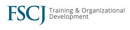 FSCJ training & organizational development logo