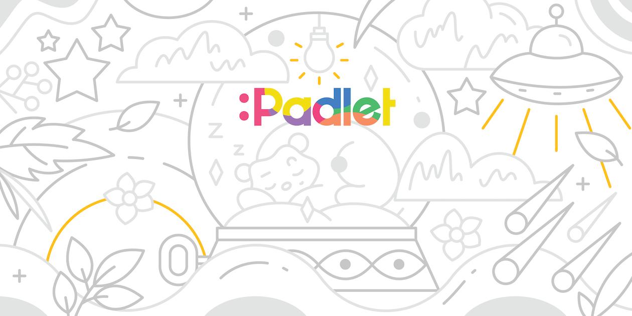 Sign up for Padlet