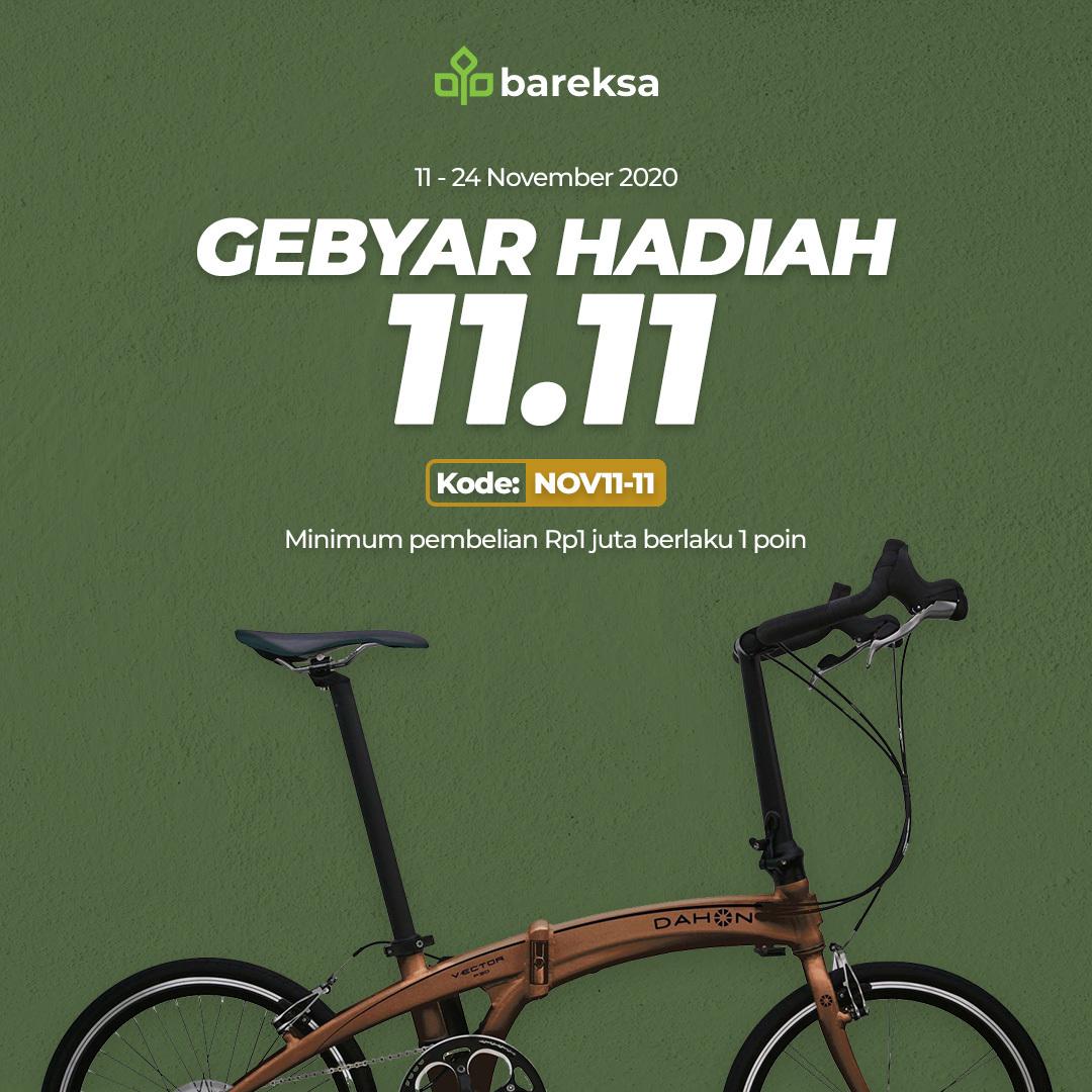 Promo 11-11, Beli Reksadana Bisa Raih Sepeda hingga Voucher Rp100 Ribu