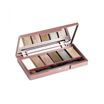 MISS HANA Novadiva 6-Colors Eye Shadow Palette 3g