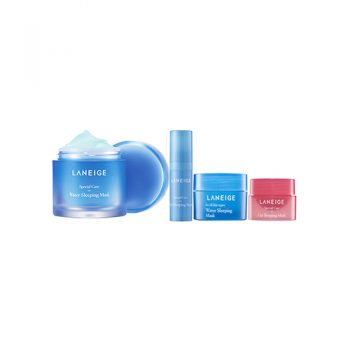LANEIGE Water Sleeping Mask Special 4 Item Set
