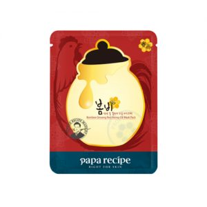 PAPA RECIPE Bombee Ginseng Red Honey Oil Mask Pack 10pcs