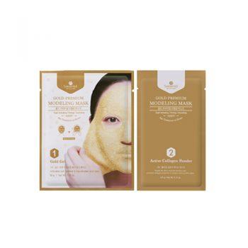 SHANGPREE Gold Premium Modeling Mask 10pcs