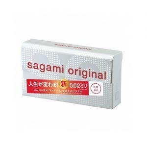SAGAMI Original 0.02 Non Latex Condom 6pcs
