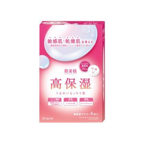 KRACIE Hadabisei Face Mask for Sensitive Skin 4pcs