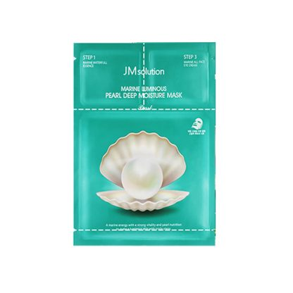 JM SOLUTION Marine Luminous Pearl Deep Moisture Mask 10pcs