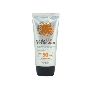 3W CLINIC Intensive UV Sun Block Cream 70ml
