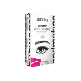 ANDMETICS Brow Wax Strips Women 4pcs