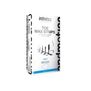ANDMETICS Toe Wax Strips Men 10 Strips
