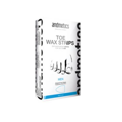 ANDMETICS Toe Wax Strips Men 10 Strips