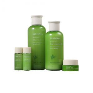 INNISFREE Green Tea Balancing Skin Care EX 5 Item Set