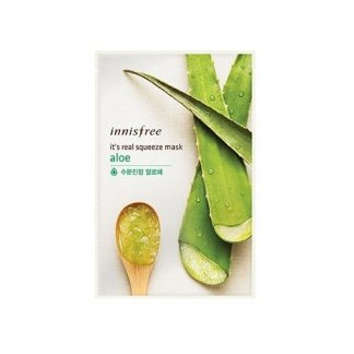 INNISFREE-It's-Real-Squeeze-Mask-10pcs---Aloe