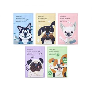INNISFREE My Real Pet Mask 5pcs