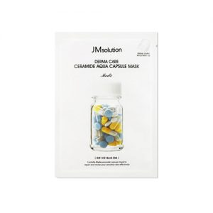 JM SOLUTION Derma Care Ceramide Aqua Capsule Mask 10pcs