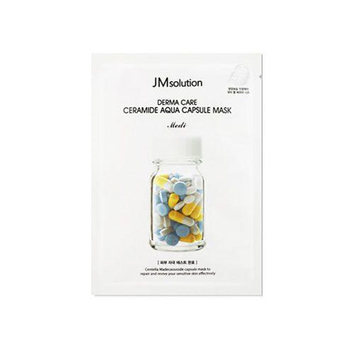 JM SOLUTION Derma Care Ceramide Aqua Capsule Mask 10pcs