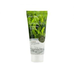 3W CLINIC Green Tea Cleansing Foam 100ml