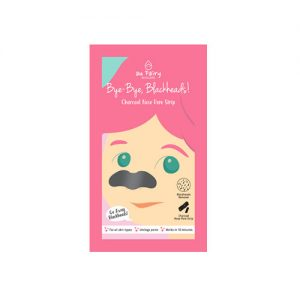 AU FAIRY Bye-bye Blackheads Charcoal Nose Pore Strip 10pcs