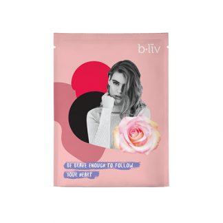 B LIV Velvety Soft Mask 4pcs