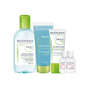 BIODERMA Cleanse & Purify 5 Item Value Set